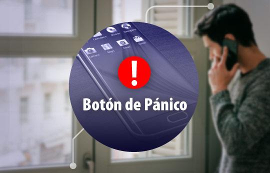 Botón de Pánico | Sistema de alerta temprana
