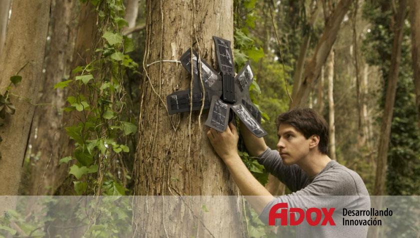 teléfonos móviles para salvar el Amazonas