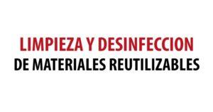 Limpieza y Desinfección de Materiales Reutilizables con LT8