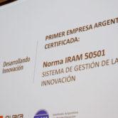 Primera Empresa en Certificar Gestión de la Innovación