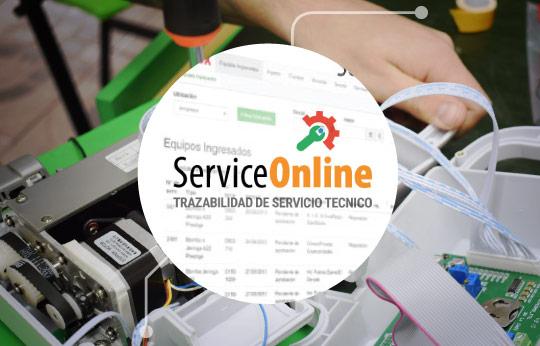Service Online | Trazabilidad de asistencia técnica