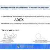 Acreditación en el Registro Único de Responsabilidad Social