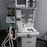 Máquina para anestesia y respirador integrado para el Hospital Municipal de Rivadavia