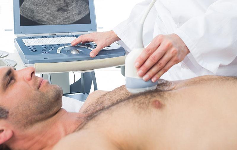 La ecografía pulmonar ofrece otra opción de diagnóstico para la COVID-19
